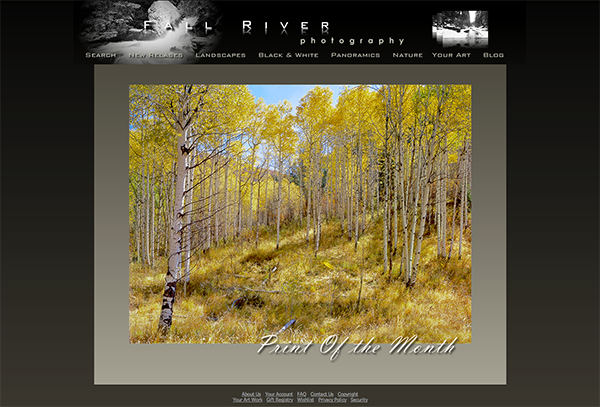 Fall River Photography Webpage