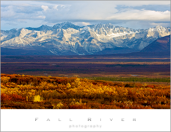 The Alaska Range Fine Art Nature Photograph
