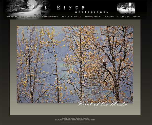 Fall River Photography Print of the Month